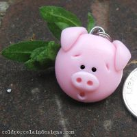 Piggy Pendant by i-be-c