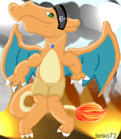 Renlu Charizard Pokemorph by tenko72