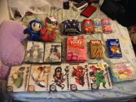 What I got from Ohayocon 2015 by LiveWireGoth