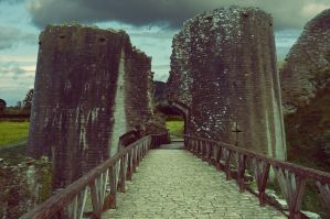 Premade Castle Background 2 by LadyxBoleyn