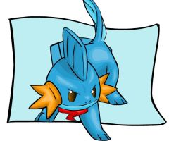 Mystery Dungeon 2: Mudkip by Iron-Zing