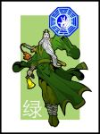the Green Taoist by hangingghost