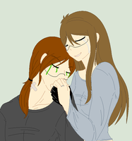 .:9Ann Family:. Mother and Son by NerdINC12