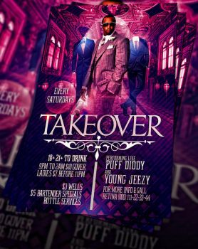 PSD Takeover Flyer by retinathemes