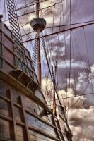 Portuguese Galleon by justinyap90