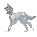 Crystalline Dog Adopt(Sold!) by Carbon-Based-Adopts
