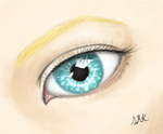 Eyes made of pools by sammymoo