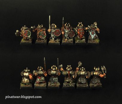 Dwarf Ironshields group by KorNat