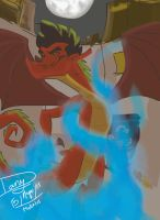 Jake Long the American Dragon by Praquina