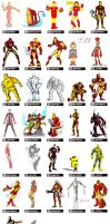 IronMan Lineup by striffle