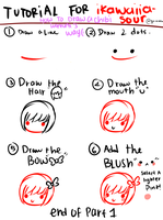 Chibi Head tutorial part one by hexology