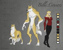 Belle Connors -MRC ref sheet- by CorNocte