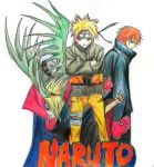 Naruto cover art by Satiho109