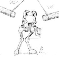 Sketchpad: ACME AT-ST by JasonShoemaker