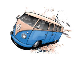 VW Camper by flatfourdesign