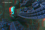 Alien World 3 Anaglyph 3D by Osipenkov