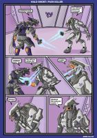 Halo short: Painkiller by Skyward-Dreamer