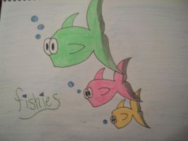 Fishies by HexyLovesforever