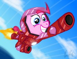 Iron Pinkie by petirep