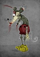 Zombie Mickey by paulorocker