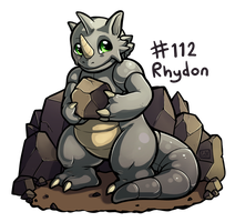 112 - Rhydon by oddsocket