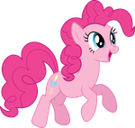 Pinkie Pie Jumping by TheShadowStone