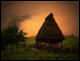 Romanian Traditional Barn by AlexandruGatea