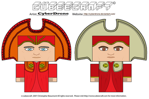Cubeecraft - Time Lords 'Doctor Who' by CyberDrone