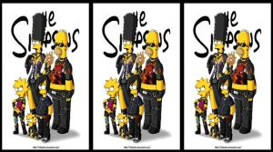 The simpson gothic by RoosterTeethFan