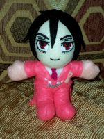 Breast Cancer Awareness Sebastian Michaelis by TashaAkaTachi