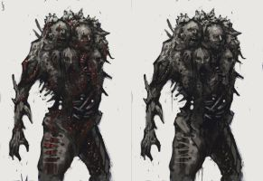 Dead Space Puker by EdwardDelandreArt