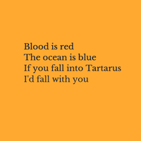 Percy Jackson (Belated) Valentine poem by n-trace