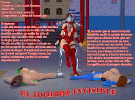 Hombre Invisible by leoskull03