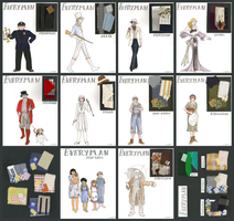 Everyman Costume Designs by klouart