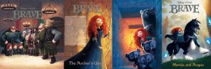 Pixar's Brave covers by JPRart