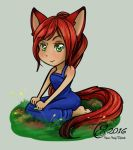 A simple kitty -gift picture- by Amadalia