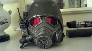 NCR Veteran Ranger Helmet and Mask by HighlanderProps
