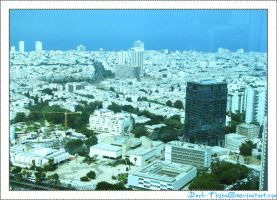 Tel-Aviv view by dark-tisha