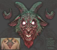 Goat for Villi by joeytheberzerker