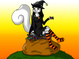 Cute Candy Witch ::AT:: by MizzGenK