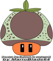 Chocolate Chip Mushroom by MarioBlade64