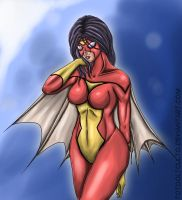 Spiderwoman Jessica Drew by TOTOOLTOULTO