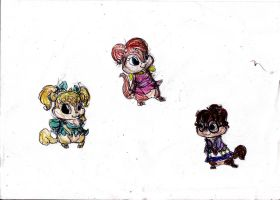 Chipettes by DylBoyce