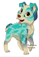 Blue Dog ..::CLOSED::..  *+-~Super Sale!~-+* by love-the-adopts