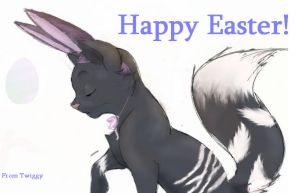 Happy Easter! by Twiggy-is-me