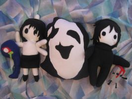 Yume Nikki Plushies by StrawberryParall