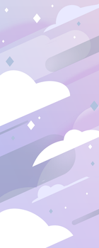 Steven Universe Clouds Background (F2U) by DaniGhost