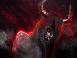 Blood Rain by ArcaFelidae