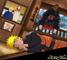 I'm watching you: Tobi and Naruto by thelostwoodss