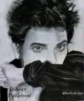 Robert Pattinson - Desenho-Drawing by BeatrizLoveMyJesus